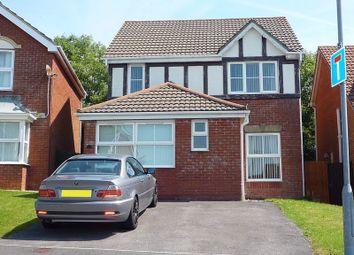 Thumbnail 3 bedroom detached house for sale in Glas Y Llwyn, Barry
