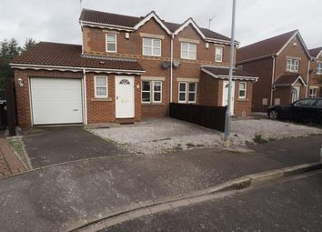 Thumbnail 3 bed semi-detached house to rent in Navigation Way, Victoria Dock, Hull