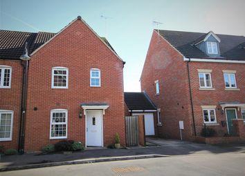 Thumbnail 3 bedroom end terrace house for sale in Havisham Drive, Swindon