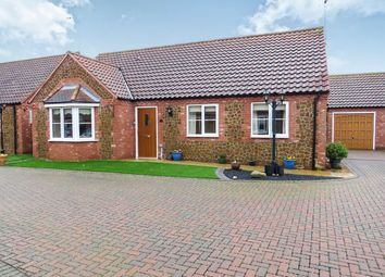 Thumbnail 3 bed detached bungalow for sale in Willowmead Close, Snettisham, King's Lynn