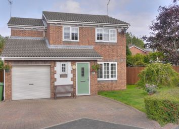 Thumbnail 4 bed detached house for sale in Hauxley Drive, Cramlington