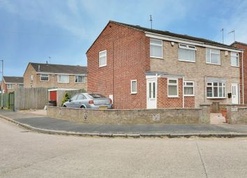 Thumbnail 3 bed semi-detached house for sale in Lagoon Drive, Sutton-On-Hull, Hull