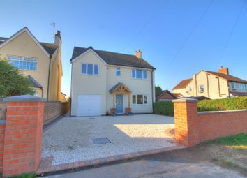 Thumbnail 4 bed detached house for sale in Thornborough Road, Whitwick, Coalville