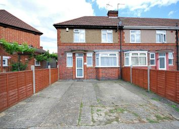 Thumbnail 3 bed end terrace house for sale in Bamford Avenue, Wembley, Middlesex
