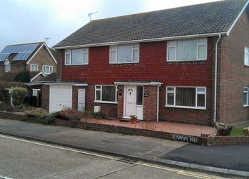 Thumbnail 3 bed flat to rent in Ophir Road, Worthing