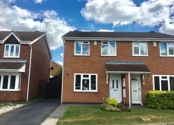 Thumbnail 3 bed semi-detached house for sale in Phipps Close, Whetstone, Leicester
