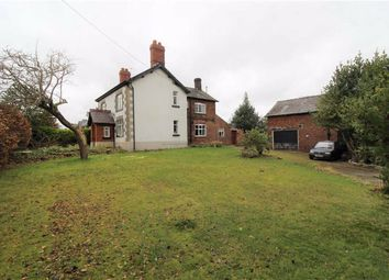 Thumbnail 3 bed detached house for sale in Main Road, Goostrey, Cheshire