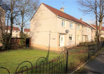 Thumbnail 3 bed end terrace house for sale in Pleaknowe Crescent, Glasgow