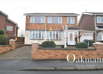 Thumbnail 4 bed detached house for sale in Chesterwood, Hollywood, Birmingham, West Midlands.