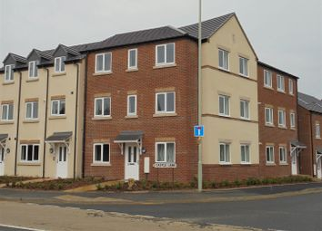 Thumbnail 2 bedroom flat to rent in Redbridge Court, Castle Street, Hadley, Telford