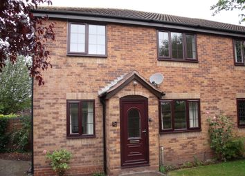 Thumbnail 1 bed semi-detached house to rent in Willowbank, Tamworth