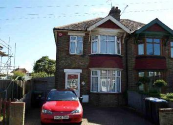 Thumbnail 3 bed semi-detached house to rent in Warten Road, Ramsgate