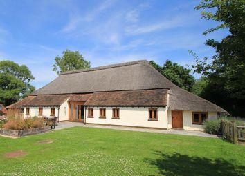 Thumbnail 4 bed detached house for sale in Biddenden Green Farm, Lewd Lane, Smarden, Kent