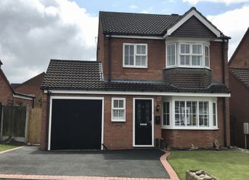 Thumbnail 4 bed detached house for sale in Hudson Way, Cheswardine, Market Drayton