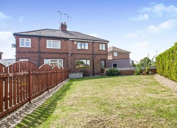 Thumbnail 3 bed semi-detached house for sale in Foxcliffe, Brotherton, Knottingley