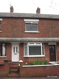 Thumbnail 3 bed terraced house to rent in Glenbank Drive, Crumlin Road, Belfast