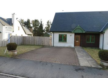 Thumbnail 2 bed semi-detached bungalow for sale in Nethy Bridge