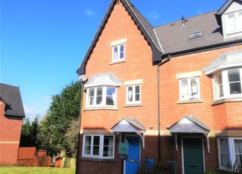 Thumbnail 4 bed terraced house for sale in Popham Close, Tiverton, Devon