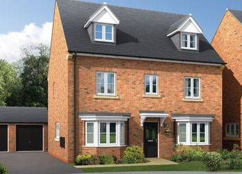 "Thumbnail 5 bed detached house for sale in ""The Poppleton"" at Amos Drive, Pocklington, York"