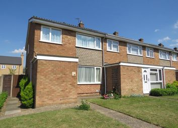 Thumbnail 3 bed end terrace house for sale in Nursery Close, Biggleswade