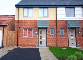 Thumbnail 2 bed semi-detached house to rent in Iris Grove, Darlington