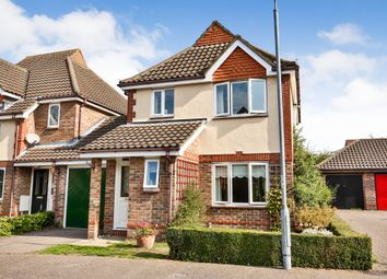 Thumbnail 3 bed link-detached house for sale in Coleman Close, Drayton, Norwich