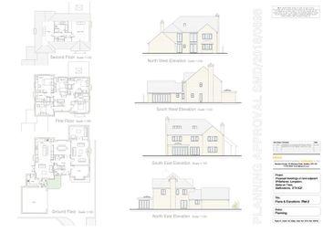 Thumbnail Land for sale in Building Plot 2, Leek Road, Longsdon
