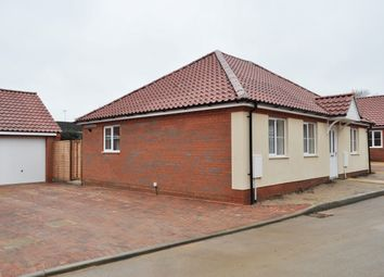 Thumbnail 2 bed bungalow to rent in Cooper Row, Brundall, Norwich, Norfolk