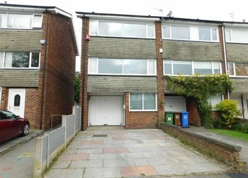 Thumbnail 3 bed town house for sale in Culver Road, Stockport