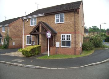 Thumbnail 2 bed semi-detached house to rent in Woodgate Drive, Chellaston, Derby