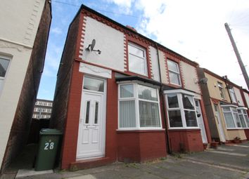 Thumbnail 2 bed semi-detached house to rent in Ashburton Road, Wallasey