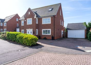 Thumbnail 6 bed detached house for sale in Park View Close, Broughton Astley, Leicester, Leicestershire