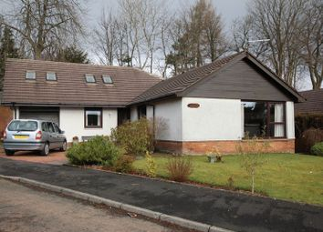 Thumbnail 4 bed detached bungalow for sale in Helenslee Court, Dumbarton