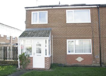 Thumbnail 3 bedroom end terrace house for sale in Benridge Park, Blyth, Northumberland