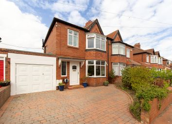 Thumbnail 3 bed semi-detached house for sale in Prestwick Gardens, Kenton, Newcastle Upon Tyne