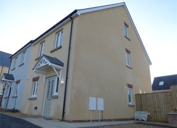 Thumbnail 4 bedroom end terrace house for sale in 2 Maes Yr Orsaf (The Wiston), Plot 2, Station Road, Narberth