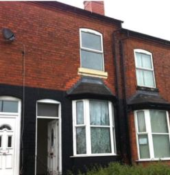 Thumbnail 6 bed terraced house to rent in Wellington Road, Handsworth, Birmingham