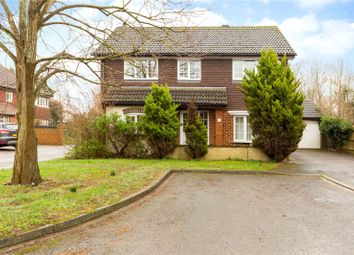 Thumbnail 4 bedroom detached house for sale in Loosen Drive, Maidenhead, Berkshire