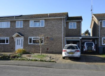 Thumbnail 4 bed semi-detached house for sale in Meadowlands, Kirton, Ipswich