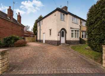 Thumbnail 3 bed semi-detached house for sale in Hady Hill, Chesterfield, Derbyshire