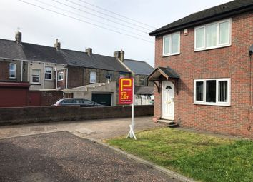 Thumbnail 3 bed semi-detached house to rent in Leeholme Court, Annfield Plain, Stanley