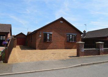 Thumbnail 3 bed detached bungalow for sale in Wanton Lane, Terrington St. Clement, King's Lynn