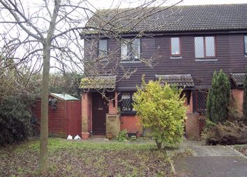 Thumbnail 2 bed end terrace house to rent in Deans Court, Windlesham, Surrey