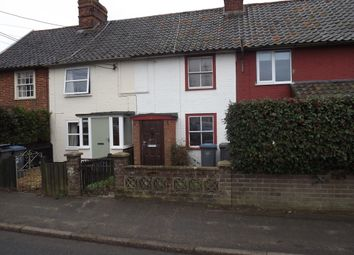 Thumbnail 2 bed terraced house to rent in Leiston Road, Knodishall