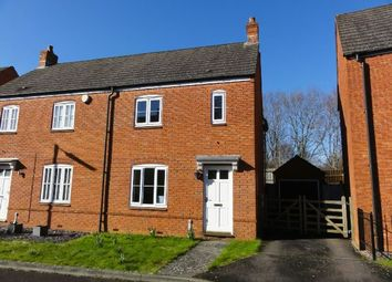Thumbnail 3 bed semi-detached house to rent in Lady Somerset Drive, Ledbury