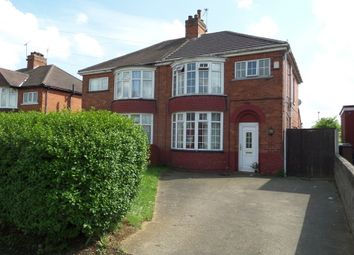 Thumbnail 3 bed semi-detached house for sale in Angerstein Road, Scunthorpe