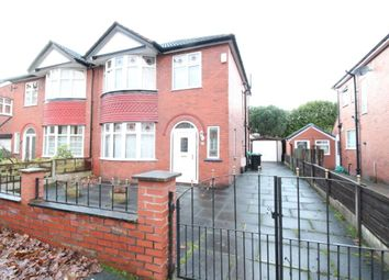 Thumbnail 3 bed semi-detached house for sale in Hillingdon Road, Stretford, Manchester