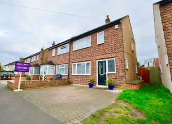 Thumbnail 2 bed semi-detached house for sale in New Road, Feltham