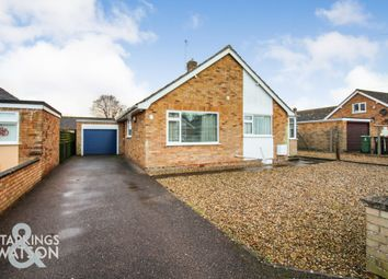 Thumbnail 3 bed detached bungalow for sale in Malten Close, Poringland, Norwich