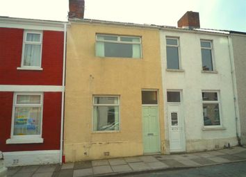 Thumbnail 3 bed terraced house to rent in Bell Street, Barry